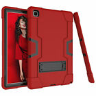 """For Samsung Galaxy Tab A7 10.4"""" T500 T505 Hybrid Rubber Rugged Stand Case Cover"""