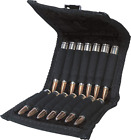 Rifle Gun Ammo Pouch Case Belt Ammunition Cartridge Loops Holds 14 Rounds Black