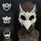 Japanese Demon Samurai Tiger Dragon God Tengu Resin Second Element Cos Mask