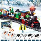 826PCS Christmas Village City Train tree mini figures Building Blocks