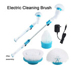Electric Spin Scrubber Cordless Scrubber With 3 Replaceable Cleaning Brush Heads
