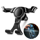 Gravity Car Air Vent Mount Cradle Holder Stand for iPhone Mobile Phone GPS Black