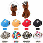 Dog Hat Summer shade puppy hats Cat  hat Visor Cap With Ear Holes Pet Products