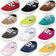 BENHERO Baby Boys Girls Canvas Toddler Sneaker Anti-Slip First Walkers Candy Sho