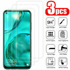 3Pcs Tempered Glass Screen Protector For Huawei P10 P20 P30 P40 Mate 20 30 Lite