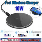QI Wireless Charger Fast Charging Pad For Apple iPhone 11 Pro X Xr XS Max 12 US