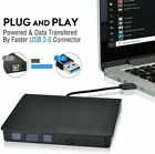 USB 3.0 Slim DVD externo RW Grabador CD Drive Lector Reproductor Laptop...