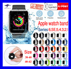 Silicone Strap Wrist Band For Apple Watch Series Se 6 5 4 3 2 1 38 40 42 44mm
