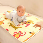 60 90cm Baby Infant Urine Bed Mat Reusable Diaper Travel Cover Burp Changing Pad