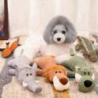 Soft Plush Dog Toys Durable Pet Puppies Chew Toy Cute Funny Dogs Sleeping Toy