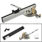 Wood Working Tool Miter Gauge &Track Stop Table Saw/Router Miter Sawing Assembly