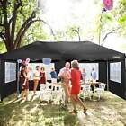 10x20 ft Wedding Party Tent Gazebo Canopy 6 Removable Sidewalls Oxford Cloth NEW