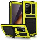 For Samsung S21 S21+ S21 Ultra Shockproof Armor Metal Aluminum Ring Case Cover