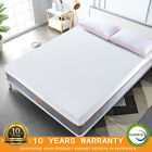Maxzzz 10 Inch Gel Infused Bamboo Charcoal Memory Foam Mattress Pressure Relief