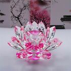 Crystal Glass Lotus Flower Tea Light Decoration With Gift Box