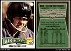 1975 Topps #343 Mike Eischeid Vikings Upper Iowa 6 - EX/MT