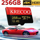 256GB Micro SD SDHC Memory Card Fast Class10 275MB/S Flash TF Card with Adapter