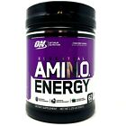 Optimum Nutrition ON Amino Energy 62 SERVING 1LB BCAA Amino Acid Pre-Workout 65