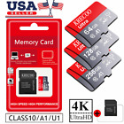 256GB Micro Memory SD Card 10 Fast 4K Flash TF Card with Adapter Car Camera USA