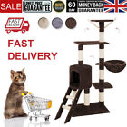 Cat Tree Tower Kitten Scratching Post Pets Activity Centre Scratcher 3 Colors
