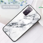 Marble Pattern Glossy Shockproof Protective Case Cover For Samsung Galaxy S20+