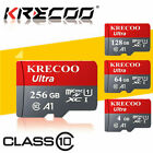64GB 128GB 256GB Micro Memory SD Card 275MB/S TF Card Class 10 with Adapter New