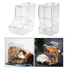 Small Pet Automatic Hamster Feeder Food Dispenser Dish Bowl Pigeon Parrots