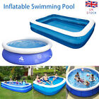 Large Swimming Pool Inflatable Garden Outdoor Summer Family Kids Paddling Pools