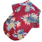 Dog Shirt Clothes Summer Beach Clothes Vest Pet Clothing Floral T-shirt Hawaiian