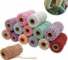 Color Rope Home Decorations Bakers String Cords Craft DIY Vase Christmas Wedding
