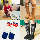 Children Baby Girls Toddler Warm Socks Soft Cotton Knee High Hosiery Tights
