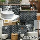 Kitchen Tile Stickers Marble Ornament Pvc Self-adhesive Decoration Home