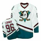 Retro NHL Hockey Jersey Anaheim #96 Charlie Conway Mighty Ducks Movie Shirts