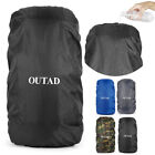 Water proof Backpack Cover 15L~88L Bag Camping Hiking Outdoor Rucksack Rain VG