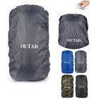 Water-proof Backpack Cover 15L~88L Bag Camping Hiking Outdoor Rucksack Rain VG