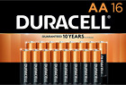 Duracell - CopperTop AA Alkaline Batteries - long lasting, all-purpose Double A