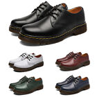 Mens Shoes Dr. Martens 1461 3 Eye Black Smooth Leather Oxfords Sole Boots Unisex