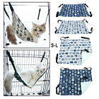 Cat Hammock Oudtoor Washable Pet Rest Cozy Bed Space Saving for Ferret Puppy