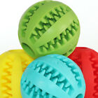 Pet Dog Puppy Rubber Ball Rubber Ball Teething Durable Pet Treat Clean Chew Toys