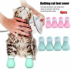 Pet Bath Supplies Cat Claw Protector Cat Feet Set Shoes Paw Protector Boots
