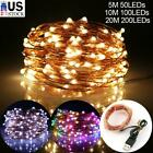 Fairy String Lights LED Waterproof USB Power Copper Wire Xmas Garden Party Decor