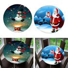 Pack+of+2%2C+Table+Covers+Christmas+Home+Decoration+Round+1.2m+Tablecloth