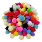 100Piece/pack Soft Cat Toy Balls Kitten Toys Pompon Ball Assorted