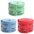 DG Party - Double Roll of Raffle Tickets 500 Count - Various Colors