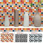 Tile Wall Stickers Decoration Mosaic Home Background Waterproof Removable