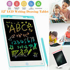 LCD Writing Tablet 12in Electronic Drawing Notepad Doodle Board Kids Gift Office